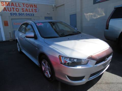 2014 Mitsubishi Lancer for sale at Small Town Auto Sales in Hazleton PA