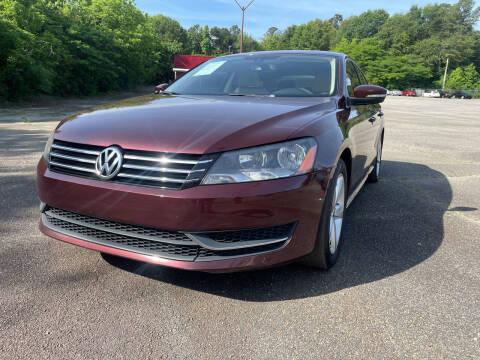 2014 Volkswagen Passat for sale at Certified Motors LLC in Mableton GA