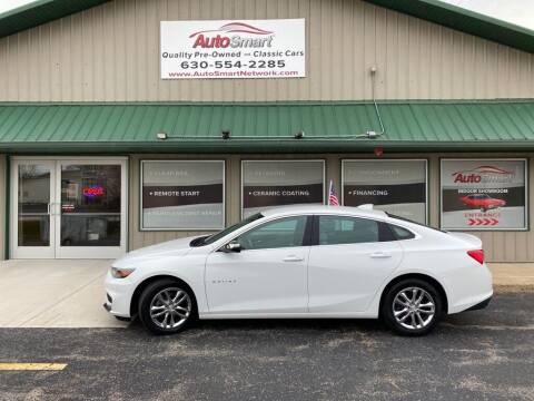 2016 Chevrolet Malibu for sale at AutoSmart in Oswego IL