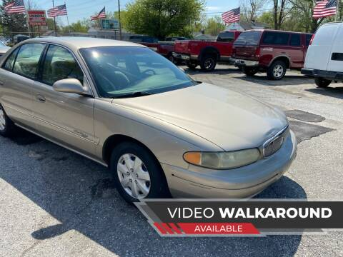 2000 Buick Century for sale at NJ Enterprises in Indianapolis IN