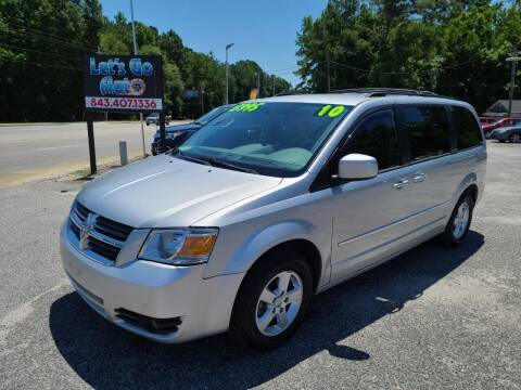 2010 Dodge Grand Caravan for sale at Let's Go Auto in Florence SC