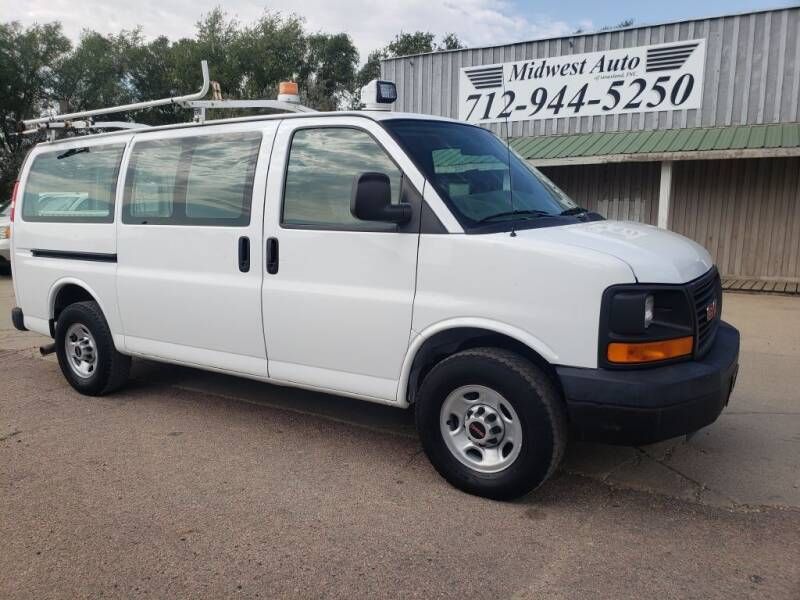 2007 GMC Savana Cargo for sale at Midwest Auto of Siouxland, INC in Lawton IA