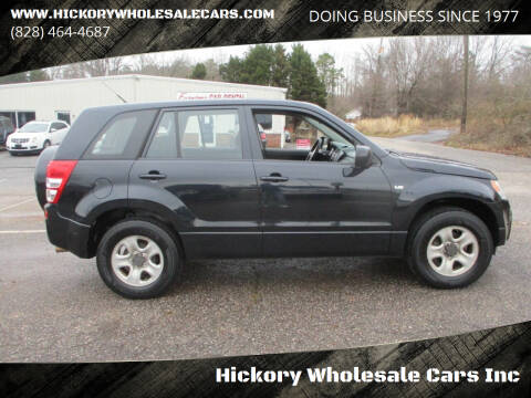 2008 Suzuki Grand Vitara for sale at Hickory Wholesale Cars Inc in Newton NC