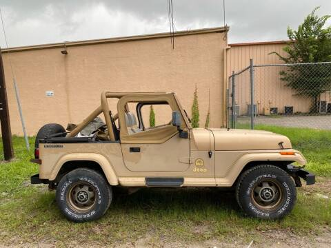 1988 Jeep Wrangler for sale at OVE Car Trader Corp in Tampa FL