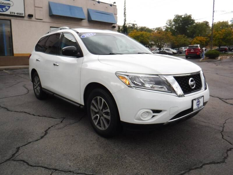 2015 Nissan Pathfinder for sale at Platinum Auto Sales in Provo UT