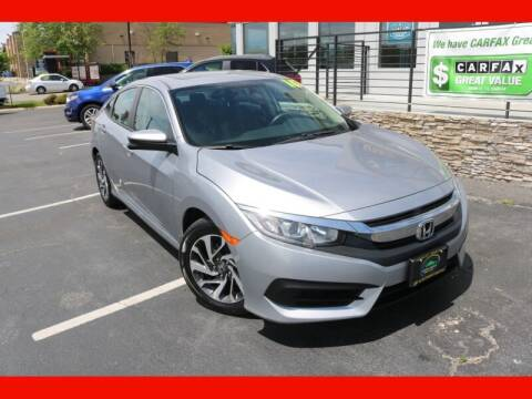 2016 Honda Civic for sale at AUTO POINT USED CARS in Rosedale MD