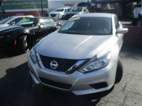 2016 Nissan Altima for sale at Quick Auto Sales in Modesto CA