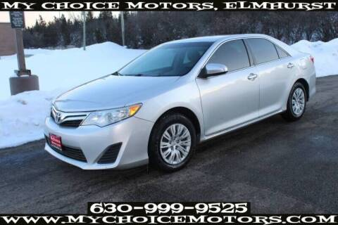 2012 Toyota Camry for sale at My Choice Motors Elmhurst in Elmhurst IL
