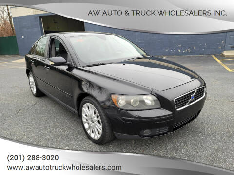 2005 Volvo S40 for sale at AW Auto & Truck Wholesalers  Inc. in Hasbrouck Heights NJ
