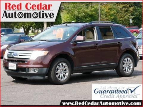 2010 Ford Edge for sale at Red Cedar Automotive in Menomonie WI