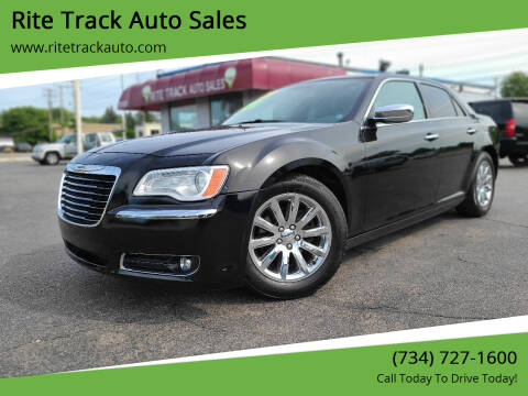 2012 Chrysler 300 for sale at Rite Track Auto Sales in Wayne MI