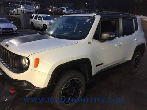 2016 Jeep Renegade for sale at J & M Automotive in Naugatuck CT