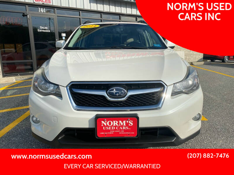 2014 Subaru XV Crosstrek for sale at NORM'S USED CARS INC in Wiscasset ME