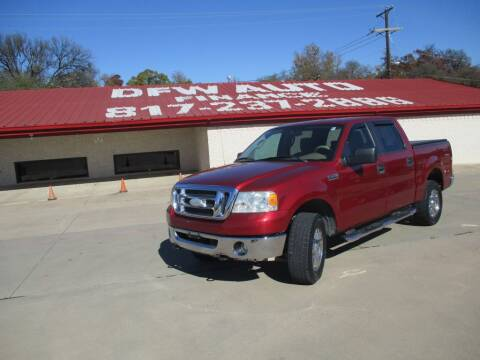 2007 Ford F-150 for sale at DFW Auto Leader in Lake Worth TX