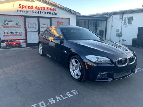 2013 BMW 5 Series for sale at Speed Auto Sales in El Cajon CA