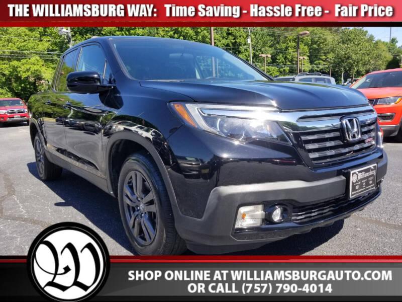 2017 Honda Ridgeline for sale in Williamsburg, VA