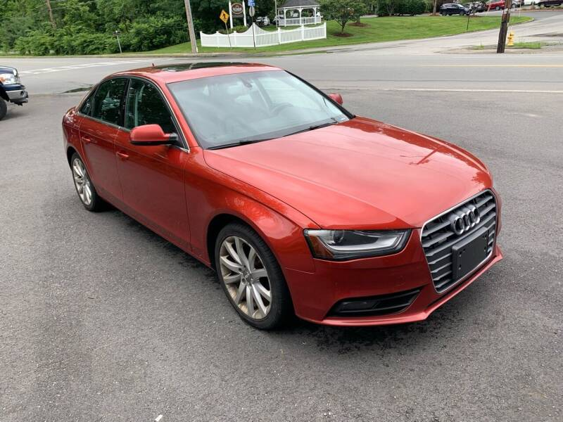 2013 Audi A4 for sale at QUINN'S AUTOMOTIVE in Leominster MA