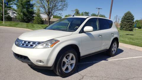 2003 Nissan Murano for sale at Nationwide Auto in Merriam KS