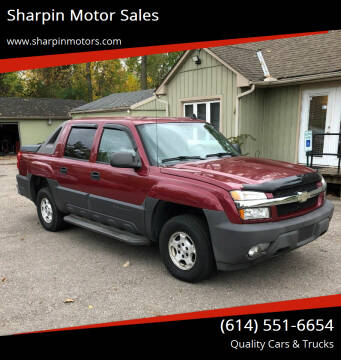 2006 Chevrolet Avalanche for sale at Sharpin Motor Sales in Columbus OH
