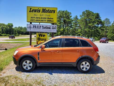 2008 Saturn Vue for sale at Lewis Motors LLC in Deridder LA