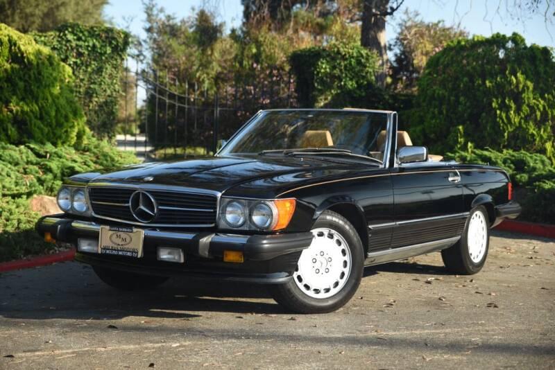 1988 Mercedes-Benz 560-Class for sale at Milpas Motors in Santa Barbara CA
