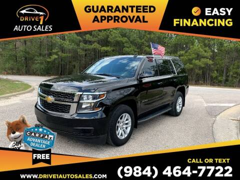 2016 Chevrolet Tahoe for sale at Drive 1 Auto Sales in Wake Forest NC