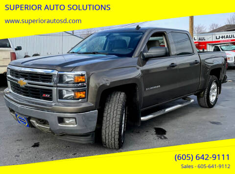 2014 Chevrolet Silverado 1500 for sale at SUPERIOR AUTO SOLUTIONS in Spearfish SD