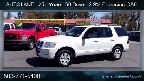2010 Ford Explorer for sale at Auto Lane in Portland OR