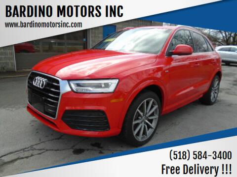 2018 Audi Q3 for sale at BARDINO MOTORS INC in Saratoga Springs NY
