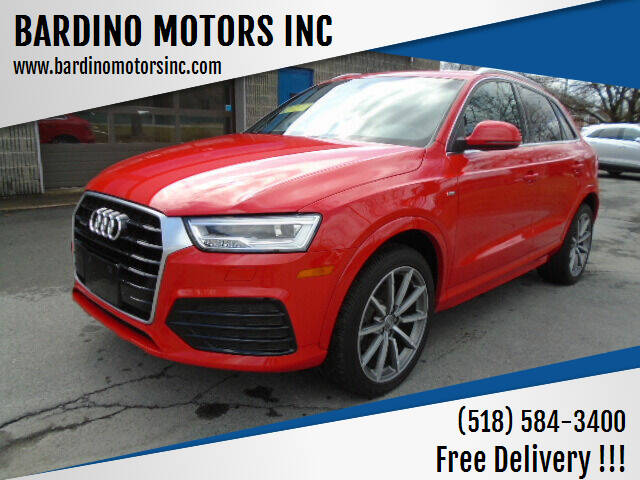 2018 Audi Q3 for sale at BARDINO MOTORS INC in Saratoga Springs NY
