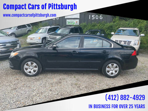 2009 Kia Optima for sale at Compact Cars of Pittsburgh in Pittsburgh PA
