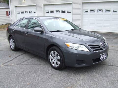 2011 Toyota Camry for sale at DUVAL AUTO SALES in Turner ME