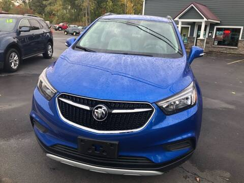2017 Buick Encore for sale at GASPORT AUTO SALES AND SERVICE,INC in Gasport NY
