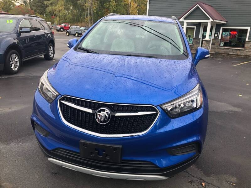 2017 Buick Encore for sale at KEV'S GASPORT AUTO SALES AND SERVICE, INC in Gasport NY