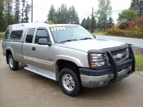2003 Chevrolet Silverado 2500HD for sale at Summit Auto Inc in Waterford PA