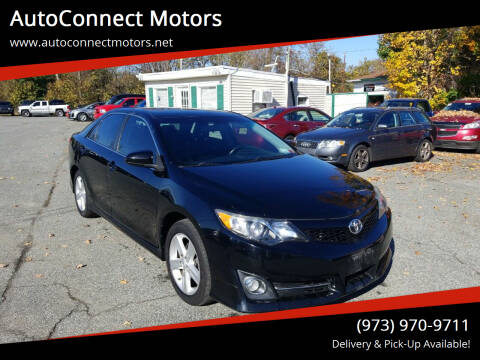 2014 Toyota Camry for sale at AutoConnect Motors in Kenvil NJ
