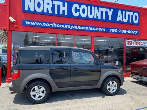 2003 Honda Element for sale at North County Auto in Oceanside CA