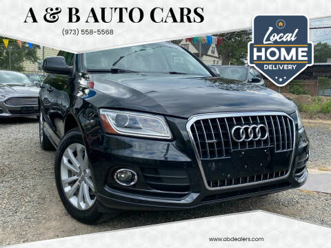 2013 Audi Q5 for sale at A & B Auto Cars in Newark NJ