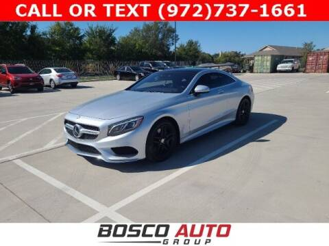 2016 Mercedes-Benz S-Class for sale at Bosco Auto Group in Flower Mound TX