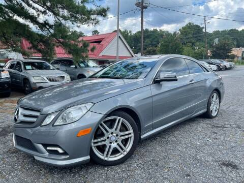 2010 Mercedes-Benz E-Class for sale at Car Online in Roswell GA