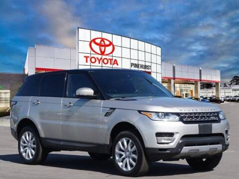 2015 Land Rover Range Rover Sport for sale at PHIL SMITH AUTOMOTIVE GROUP - Pinehurst Toyota Hyundai in Southern Pines NC