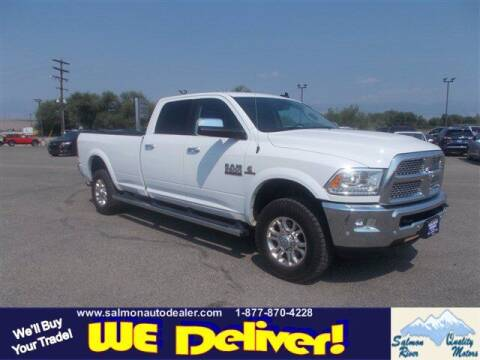 2018 RAM Ram Pickup 3500 for sale at QUALITY MOTORS in Salmon ID