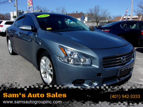 2010 Nissan Maxima for sale at Sam's Auto Sales in Cranston RI