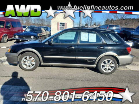 2005 Subaru Impreza for sale at FUELIN FINE AUTO SALES INC in Saylorsburg PA
