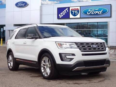 2017 Ford Explorer for sale at Szott Ford in Holly MI