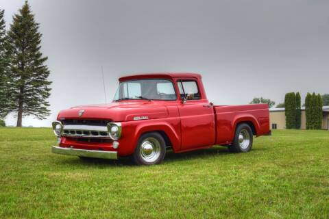 1957 Ford F-100 for sale at Hooked On Classics in Watertown MN