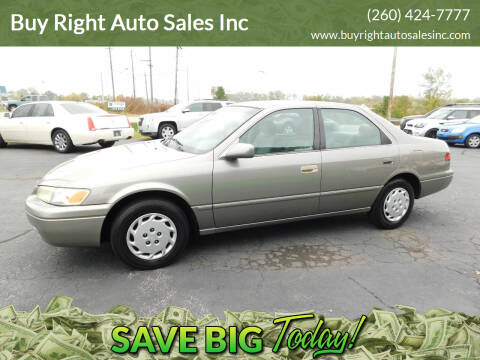 1997 Toyota Camry for sale at Buy Right Auto Sales Inc in Fort Wayne IN