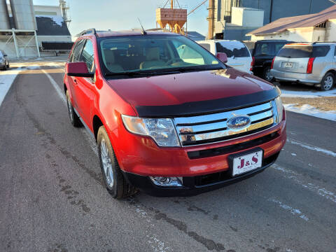 2007 Ford Edge for sale at J & S Auto Sales in Thompson ND