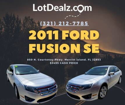 2011 Ford Fusion for sale at ROCKLEDGE in Rockledge FL