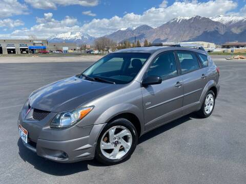 2004 Pontiac Vibe for sale at Evolution Auto Sales LLC in Springville UT